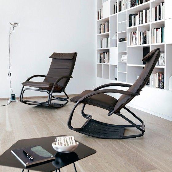 Swing Rocking Lounge Chair In 2020 Chair Lounge Chair Luxury Italian Furniture