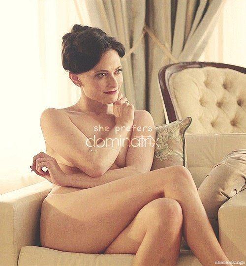 You Sherlock irene adler nude