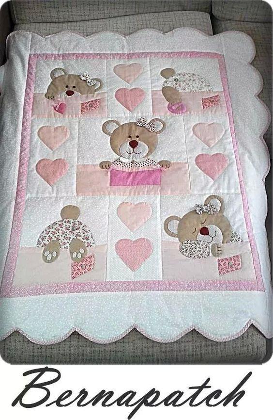 Mantas e colchas colchas de bebe pinterest bebe for Tapetes anudados a mano