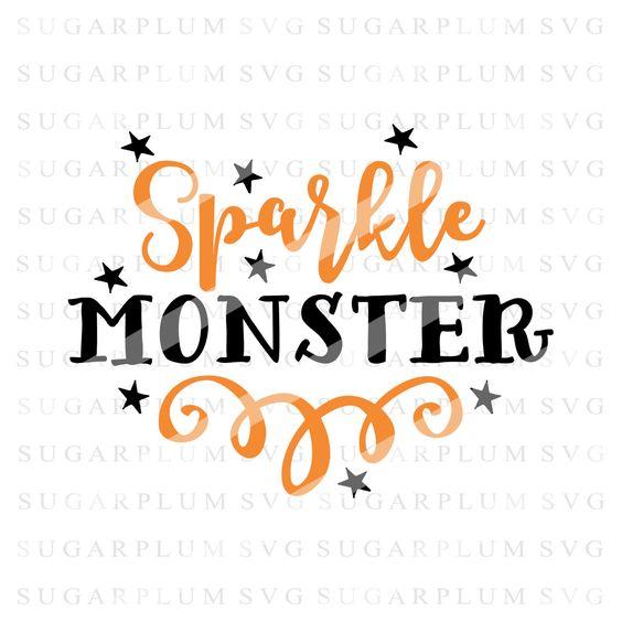Halloween SVG, Sparkle Monster SVG, Fall SVG, Halloween Cutting File Design, Cut File Design, Htv File, Cricut Svg, Silhouette Svg #94 by SugarplumSVG on Etsy https://www.etsy.com/listing/387555356/halloween-svg-sparkle-monster-svg-fall