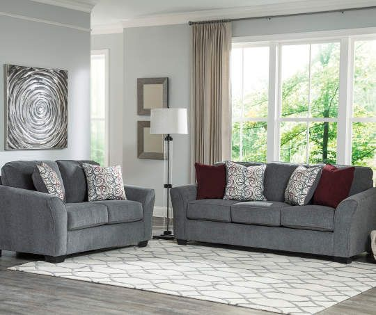 Signature Design By Ashley Idlebrook Gray Sofa Big Lots