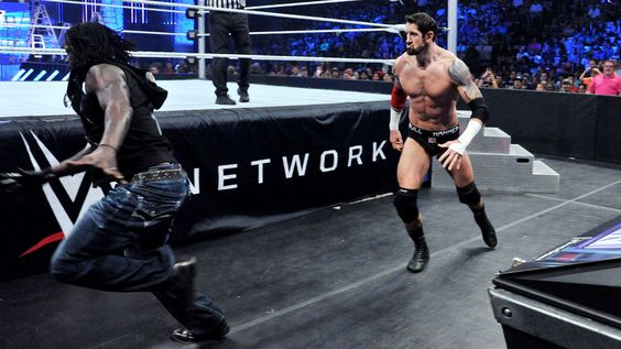 SmackDown 6/11/15: King Barrett vs Jack Swagger