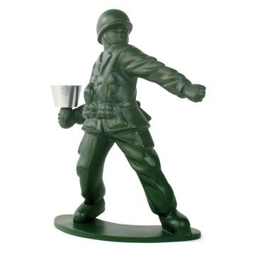 Solider Candle Holder            by Chris Collicott