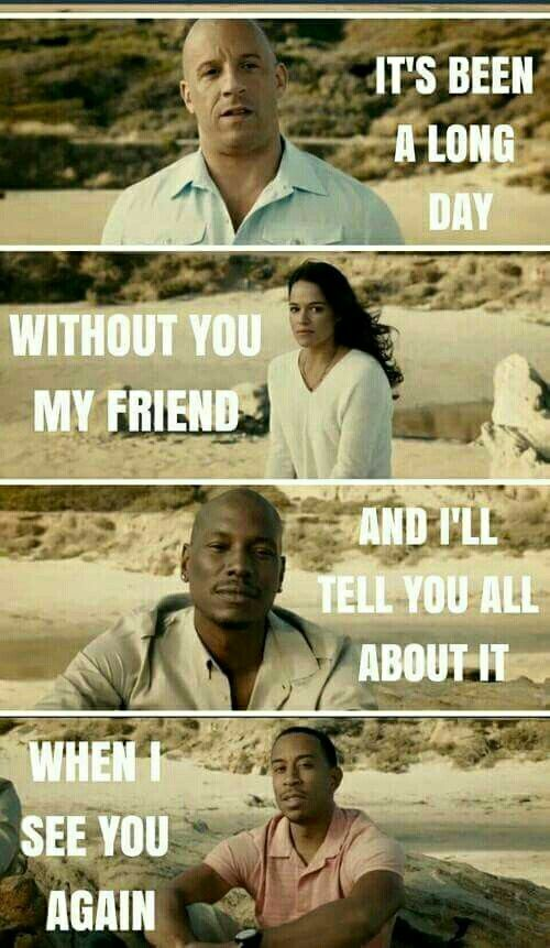 See You Again - Whiz Kalifa in remembrance of Paul Walker