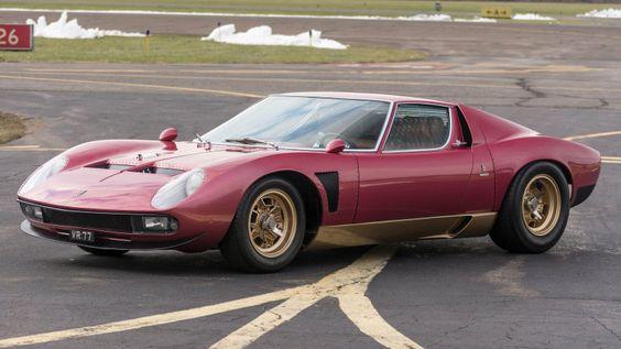 Super-rare Lamborghini Miura SV Jota promises to break records