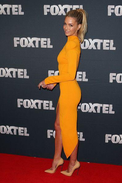Jennifer Hawkins - Foxtel 2013 Launch