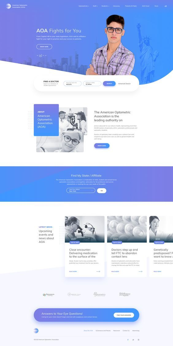 Aoa Design Web Design Inspiration Layout Portfolio Web Design Medical Website Design