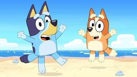 Bluey Is An Inexhaustible Six Year Old Blue Heeler Dog Who Loves To Play And Turns Everyday Family Life Into Extraord Abc For Kids Blue Heeler Dogs Kids Party