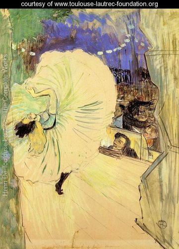 The Cartwheel - Henri De Toulouse-Lautrec - www.toulouse-lautrec-foundation.org