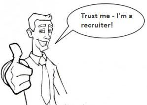 The Social Recruiters Path To Online Trust [Graphic].