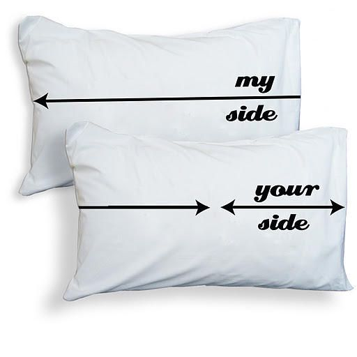 'My Side Your Side' Pillowcases - Twisted Twee - Free UK P