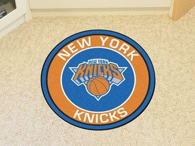 "NBA - New York Knicks Roundel Mat 27"" diameter"