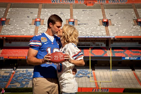 Southern weddings - football wedding ideas