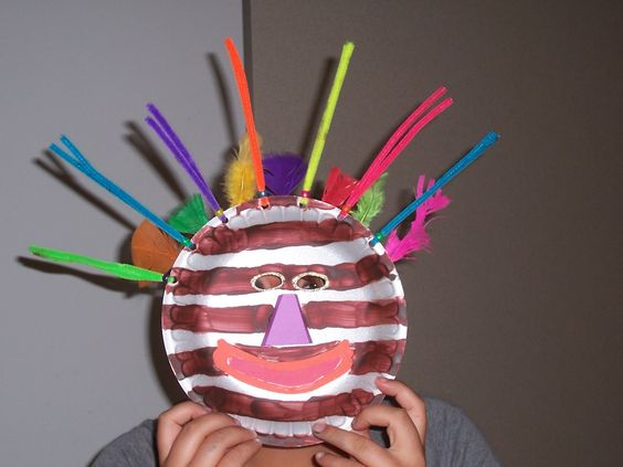 African crafts for kids african masks homeschool for Mask craft for kids