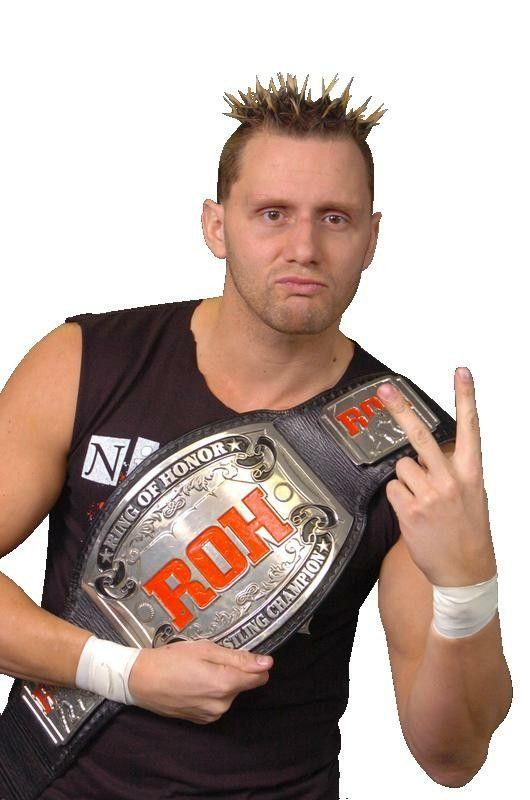 ROH Champion Nigel McGuinness | Champion, Pro wrestler, Pro wrestling