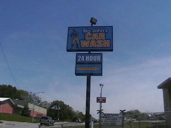 Vintage Car Wash Dallas: Car Wash Old Signs