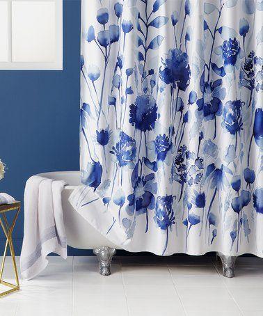 Look At This Zulilyfind Blue White Floral Corran Shower