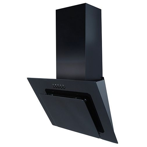 Tesco Direct Sia Agl61bl 60cm Angled Glass Cooker Hood Extractor 3m Ducting Cooker Hoods Cooker Hood Extractor Carbon Filter