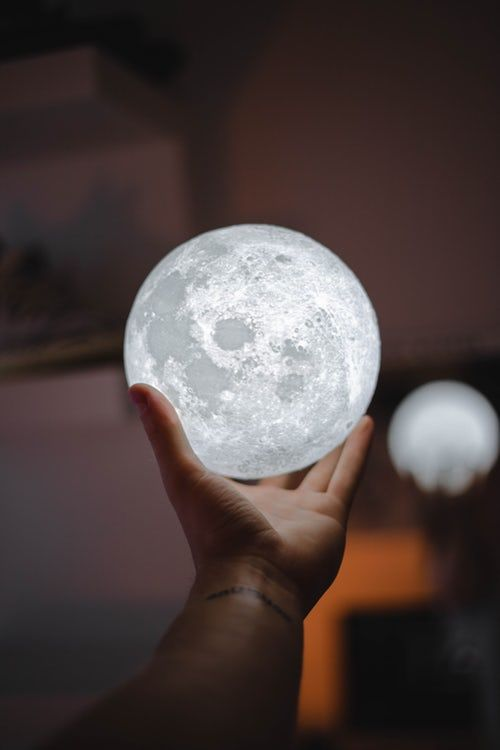 Person Holding Full Moon Lamp Moon Images Beautiful Moon Moon