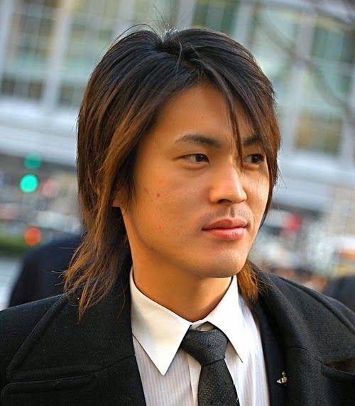 Potongan Rambut Pria Terbaru Khusus Cowok Pria Rambut Panjang Gaya Rambut Asia Gaya Rambut Keren