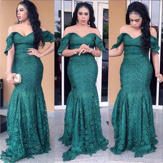 Nigerian Wedding Presents 2015 Aso-ebi colour combination ideas & styles 62