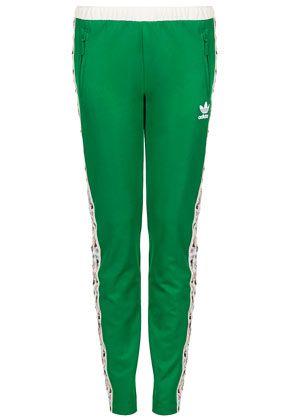 Adidas Green Track Pants