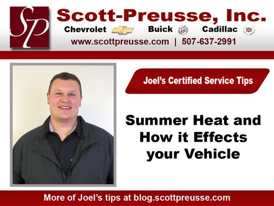 Summer Heat and Your Vehicle's Battery - Summer Heat can speed up the chemical reaction inside a battery, causing the battery to be overcharged, and shortening the lifespan of your battery.   #battery #summer #heat