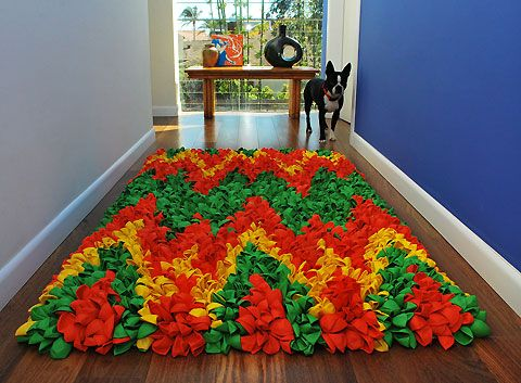 Balloon rug ..Very cool