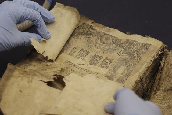 Iraqi Jewish Bible, 1540