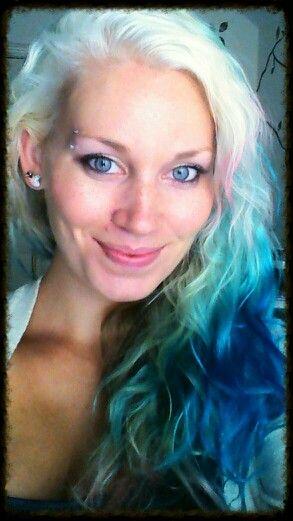 and more mermaid hair...