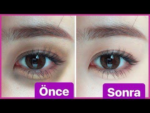 Unter Augen Taschen Naturliche Pflege Fur Natur Natur Yuz Sac Bakimi Maskeler Augen Pflege Schonheitspflege Gesicht Pflege