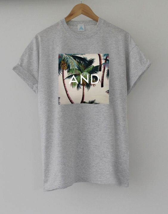 Tropical and Tee. Hand made, printed & limited edition. £11.99: