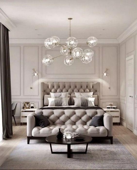 22 Modern And Romantic Bedroom Lighting Ideas Fancy Ideas About Everything Beige Bedroom Decor Luxury Bedroom Design Home Decor Bedroom