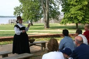 Living History Tour at Historic Jamestowne -usually Fri & Sun @10, 11:30, 1:30 and 3