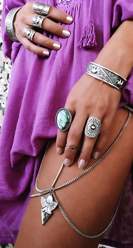 Boho jewels style @ Legacylooks.com