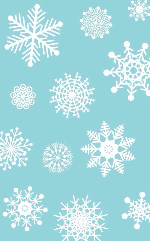 snowflake wallpaper iphone - photo #40