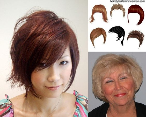 Prime Short Hairstyles For Round Faces Women Over 40 My Style Short Hairstyles Gunalazisus