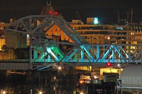 83 years old bridge, Victoria, BC, Canada