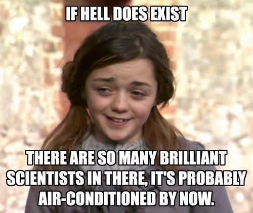Atheist Arya Doesn't Have Time for Your Religion