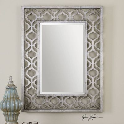 Wayfair Wall Mirrors uttermost sorbolo rectangle wall mirror & reviews | wayfair