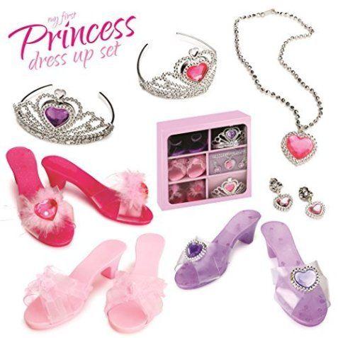 Dress Up America My First Princess Accessory Dress Up Set Little Girl Princess Dresses Toddler Dress Up Disney Princess Dress Up