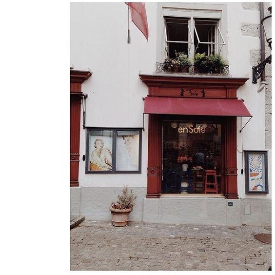 Our home store in Zurich, Switzerland