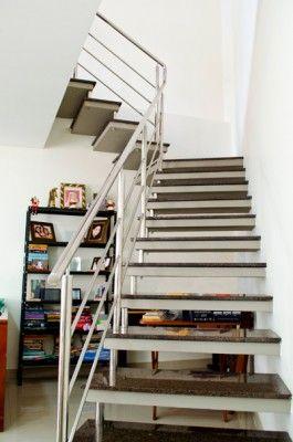 escada em concreto pré moldada