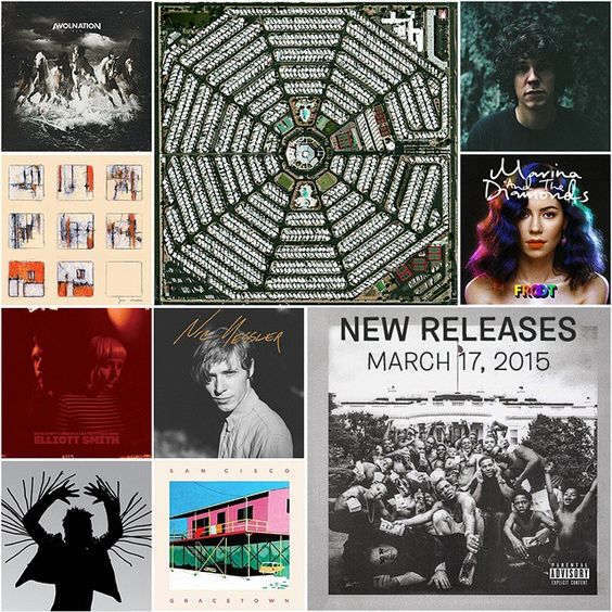 """New music out today from Kendrick Lamar (out a week early!), Modest Mouse, AWOLnation, Twin Shadow, Tobias Jesso Jr, Marina & the Diamonds, San Cisco and…"""