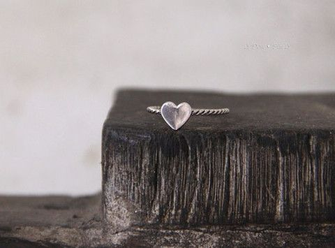 Heart Ring | Bohemian Jewellery | Indie and Harper
