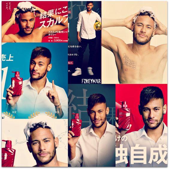 Neymar the new face of Japanese shampoo company! Youtube Video: http://youtu.be/X7CewlkyccM