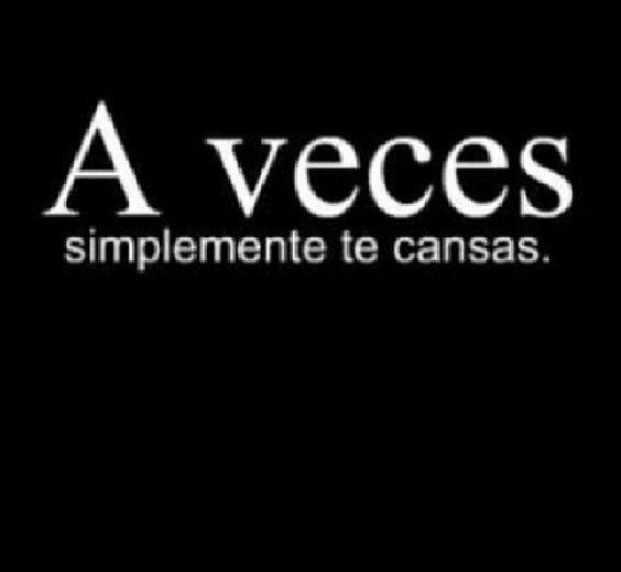 A veces