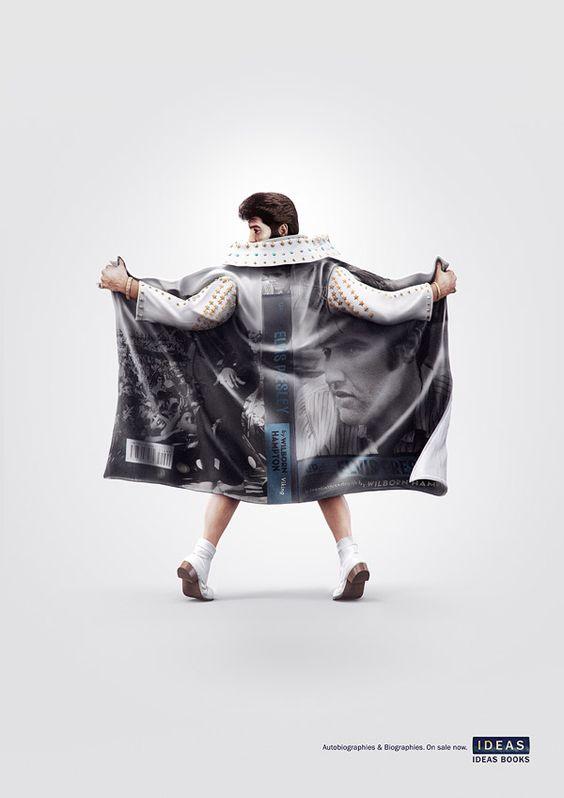 """Unsheathed Truth"" – Printkampagne für Biografien > Design und so, Gossip, Illustrationen > andre agassi, biografien, biography, campagn, elvis, marilyn monroe"