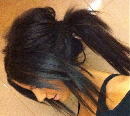Excellent Awesome Ponytails Awesome My Hair And Messy Ponytail Hairstyle Inspiration Daily Dogsangcom
