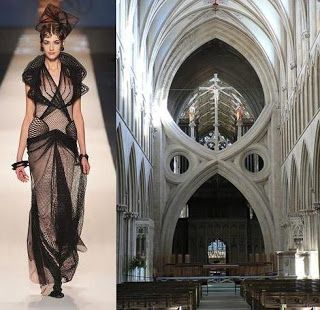 architecture | Concept: Fashion inspired by architecture ...